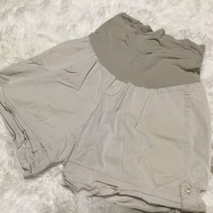 Motherhood Maternity Khaki Shorts